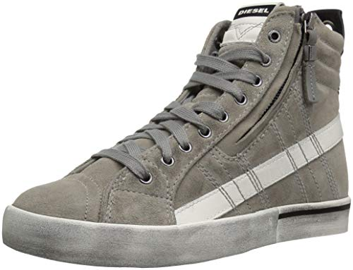 - Diesel Men's D-Velows MID LACE Sneaker, Grey, 7 M US