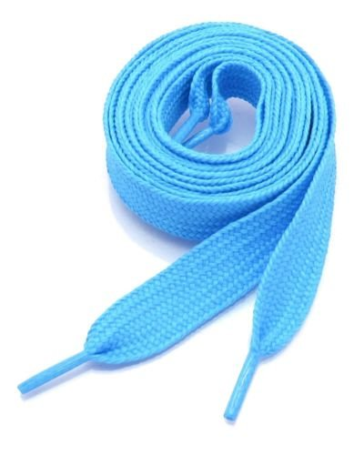 YD Shoestring - Shoe String Round Athletic (2 Pairs) FLAT WIDE SHOELACES THICK SHOE LACES 52