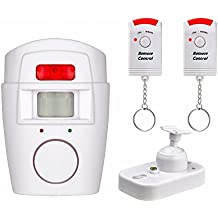 AISITIN Wireless Home Security PIR MP Alert Infrared Sensor Anti-theft Motion Detector Alarm System With 2 Remote Controller