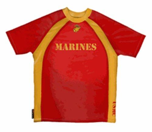 Primal Wear US Marines Activewear Top - L (Primal Wear Marines)