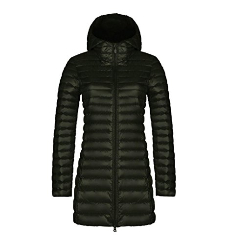 Warm Thicken Womens Colla Overcoat Faux Outerwear Coat Slim Fur Jacket Long M Hooded Winter Parka Down BqBvgP