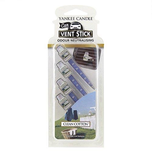 Yankee Candle 532501 Stick Désodorisant pour Buses d'Aération de Voiture Parfum Coton Frais Multicolore hot sale 2017