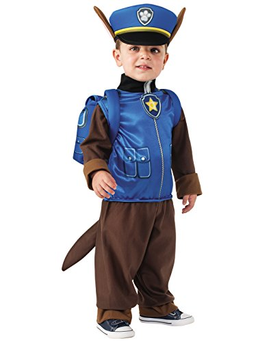 Cheap 2t Halloween Costumes (Rubie's Paw Patrol Chase Child Costume,)