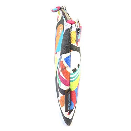 Bolso de la bolsa 'Gabs'de color negro (placa)- 28x21x2 cm.