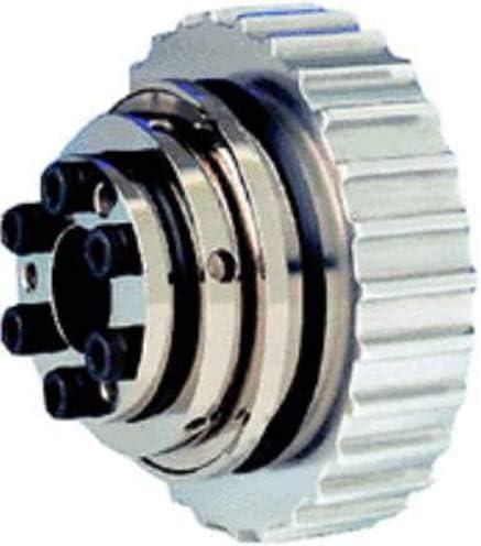 Keyed Mechanical Torque Limiter Straight 3500 RPM Max 22 lb-ft Torque Capacity