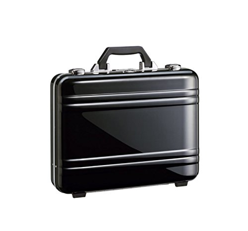 Zero Halliburton Large Classic Framed Polycarbonate Attache ZPA15 (BLACK) by ZERO Halliburton