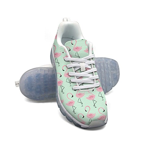 FAAERD Pink Flamingo Women's Breathable Mesh Air Running Shoes clearance professional clearance latest purchase online cheap authentic sale footlocker finishline hJ7gTnX