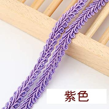 10 metres of VERY PRETTY  light purple colour 12mm LACE elastic