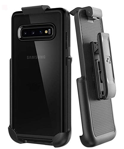Encased Belt Holster for Spigen Ultra Hybrid - Samsung Galaxy S10 Plus (Clip only, case is not Included)