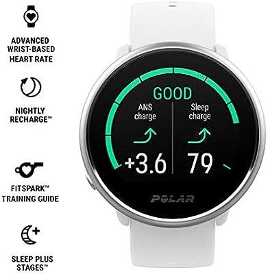 Polar Ignite – Reloj de fitness con GPS integrado, pulsómetro de ...