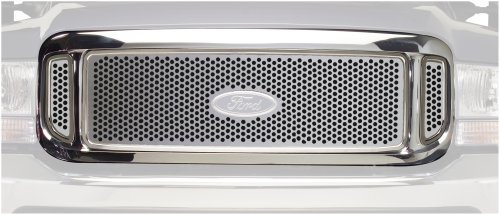 - Putco 84106 Punch Mirror Stainless Steel Grille