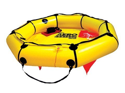 Valise Raft Life Person 4 (Revere Supply Aero Compact (4-Person) Liferaft for Aviation)