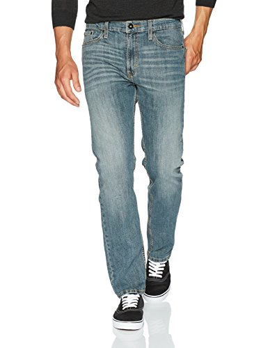 Signature by Levi Strauss & Co. Gold Label Men's Slim Straight Fit Jeans, Elk, 34W x 30L