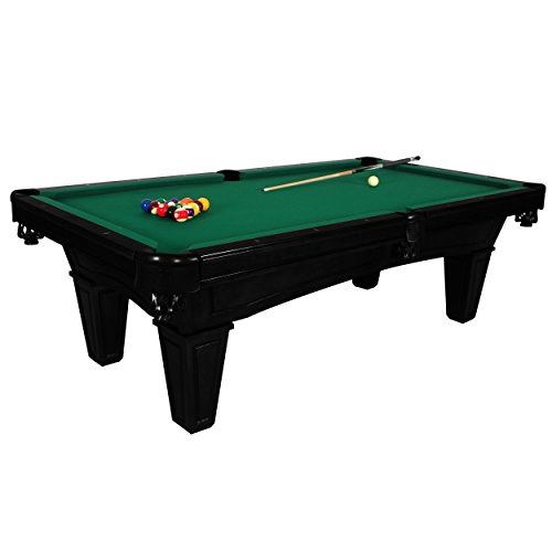 Harvil Toscana Onyx Slate Pool Table 8-Foot with Green Felt. Includes On-Site Delivery, Installation and Accessories For Sale