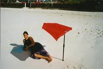 Beach Bath Outdoor Garden Parasol ALUMINIUM Compartments With  MULTIBODENHALTER Table Stuhl. Balkonklammer 35 MM