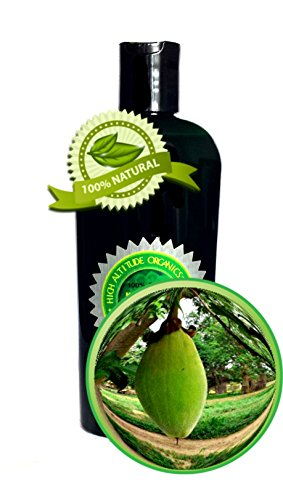 Baobab Oil - 4oz/120ml - 100% Pure and Natural - for Stretch Marks, Hair, Cracked Heels, Massage