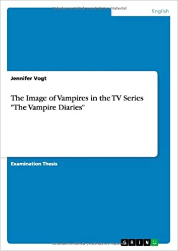 The Image of Vampires in the TV Series 'The Vampire Diaries'