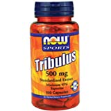 Now Foods Tribulus, 100 Caps 500mg (Pack of 3) For Sale