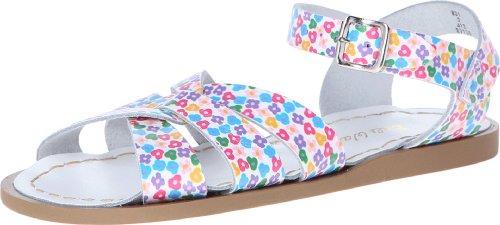 Salt Water Sandals by Hoy Shoe Original Sandal (Toddler/Little Kid/Big Kid/Women's), Floral, 9 M US Toddler