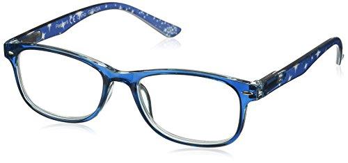 Peepers Women's Stargazer 2353225 Square Reading Glasses, Blue, - Square Whimsical Womens