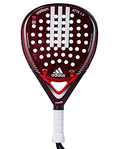 adidas Carbon Attack 1.9 Palas, Adultos Unisex, Rojo, 375: Amazon ...