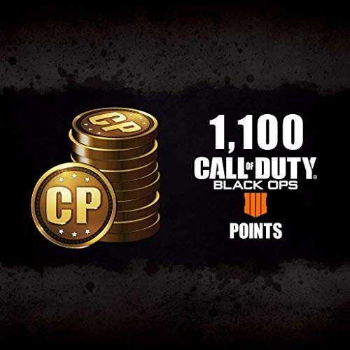 Call Of Duty: Black Ops 4 - Cod Points 1100 - PS4 [Digital - Amazon Black Ops