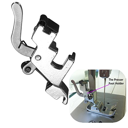 Arts, Crafts & Sewing - Stainless Steel Presser Foot Holder Replacement For Hoehold Electric Sewing Machine - 1PCs