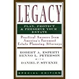 Legacy Plan, Protect and Preserve Your Estate, Robert A. Esperti, Renno L. Peterson, 0922943095