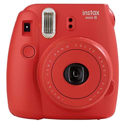 Fuji Instax Mini 8 Red Fujifilm Instax Mini 8 Camera Raspber