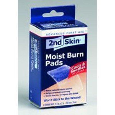 "Price comparison product image 2nd Skin Burn Pad Size: 1.5"" H x 2"" W 6/Box"
