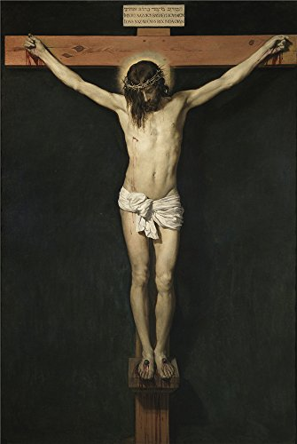 Costume National Homme Suit Quality (Oil Painting 'Velazquez Diego Rodriguez De Silva Y Christ Crucified Ca. 1632 ' Printing On Polyster Canvas , 20 X 30 Inch / 51 X 76 Cm ,the Best Kids Room Artwork And Home Gallery Art And Gifts Is This High Quality Art Decorative Canvas Prints)