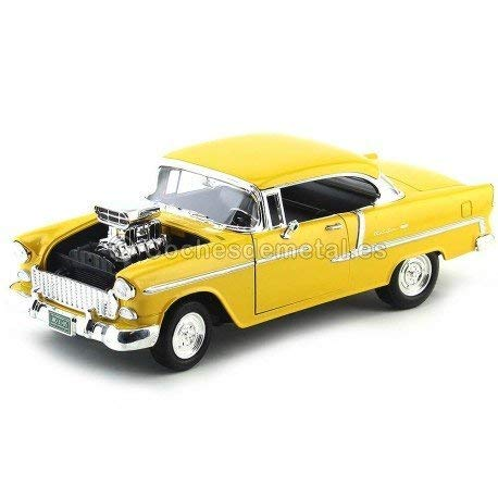 1955 Chevrolet Bel Air Hard Top Custom Amarillo Motor Max 79002