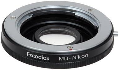Fotodiox Pro Lens Mount Adapter Compatible with Minolta Rokkor Sr//Md//Mc SLR Lenses to Nikon Z-Mount Mirrorless Camera Bodies