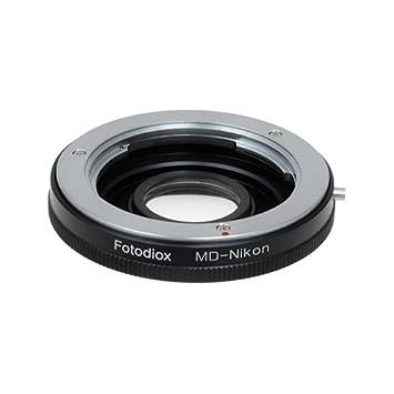 AF Confirm Minolta MC MD SR lens to Nikon F mount adapter D600 D800 D5200 D7100