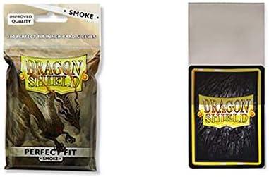 2 Packs Dragon Shield 100 Standard Size Smoke Sleeves