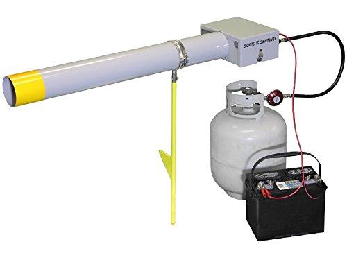 Lite Propane - Sonic Sentinel M14-1 Lite Propane Sound Cannon & Monopod