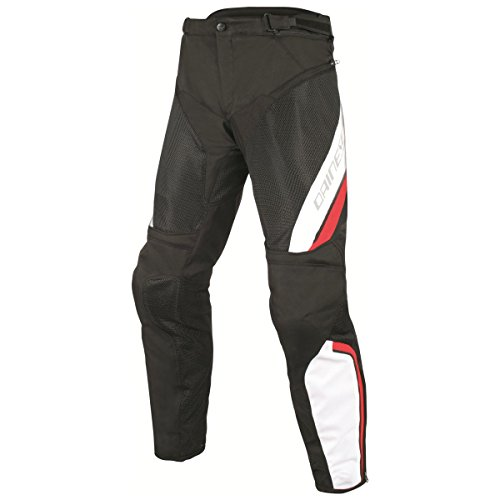 Dainese Drake Air D-Dry Pants Black/White/Red 54 Euro/37.5 USA