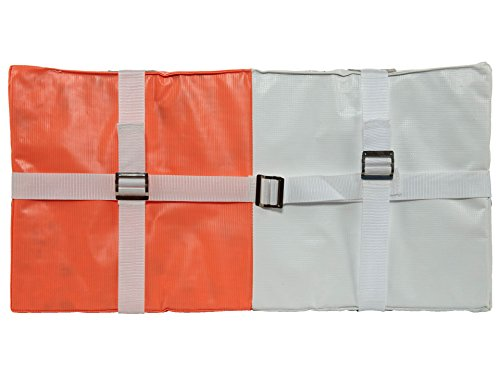 Martin Sports Double First Base 28 X 14 X 2 Not Applicable Orange/White jgvUbovfR