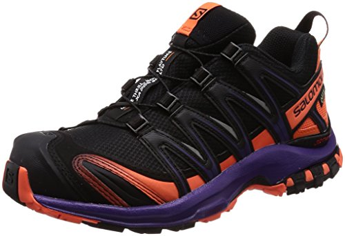 Chaussures 3D Purple 000 Black Parachute Salomon Femme de Pro Ltd GTX Nasturtium Trail W XA Noir YEqnEC