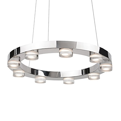 Disc Shaped Pendant Light in US - 9