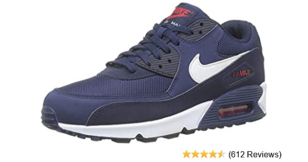 outlet store 9bfcd 14e7f Amazon.com   Nike Men s Air Max 90 Essential Low-Top Sneakers   Road Running