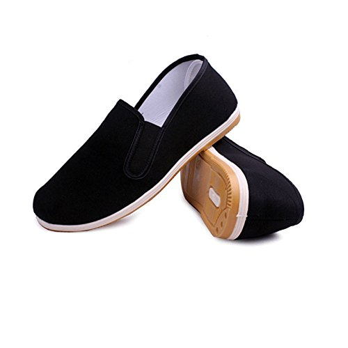 Womens Shoes Black Chi Eagsouni Slipper Mens Unisex Fu Beijing Kung Clothes for Art Black China Martial a Old Tai FqwYZF
