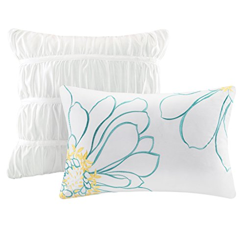 Intelligent Design Waterfall Comforter Set Twintwin Xl Size White
