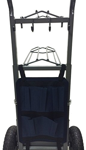 High Country Plastics Two Wheel Saddle Rack Cart by High Country Plastics (Image #1)