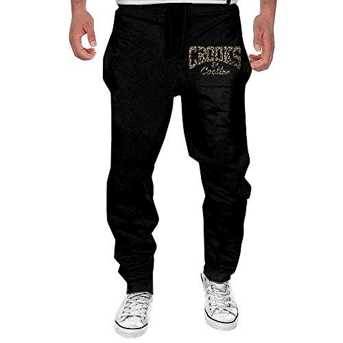 Men Crooks And Castles Leopard Logo Open-bottom Sweatpants XL