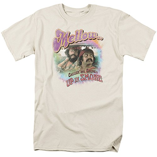 (Cheech & Chong Up In Smoke Mellow Out Vintage Style Movie T-Shirt Tee)