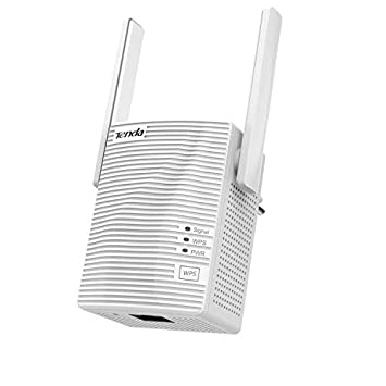 Tenda A18 Repetidor de red Extensor Amplificador de Cobertura WiFi (1200AC, Dual Band 2,5Ghz 5GHz 100Mps, Puerto Fast Ethernet, Doble Antenas): Amazon.es: ...