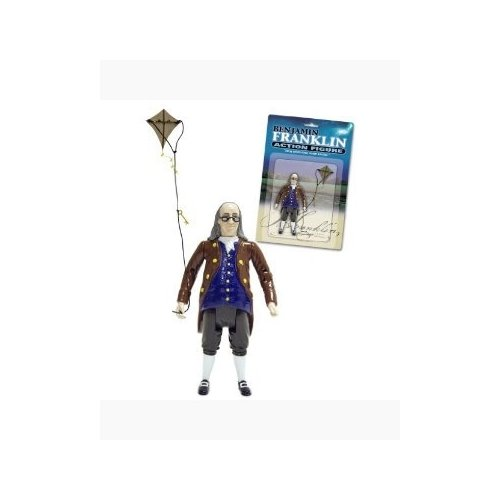 Accoutrements Benjamin Franklin Action Figure (Benjamin Franklin Puppet)