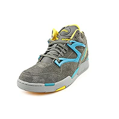 Reebok pump omni lite basketball shoe gray mens 11 5 basketball - Basket reebok pump omni lite ...