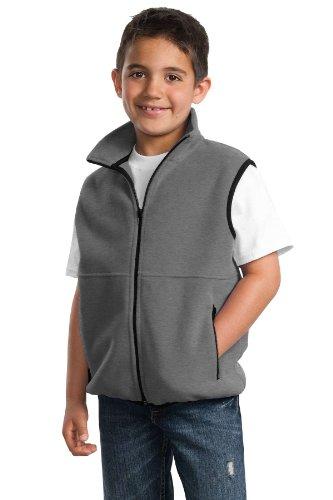 Port Authority - Youth R-Tek Fleece Vest. YJP79 - Midnight Heather_XL